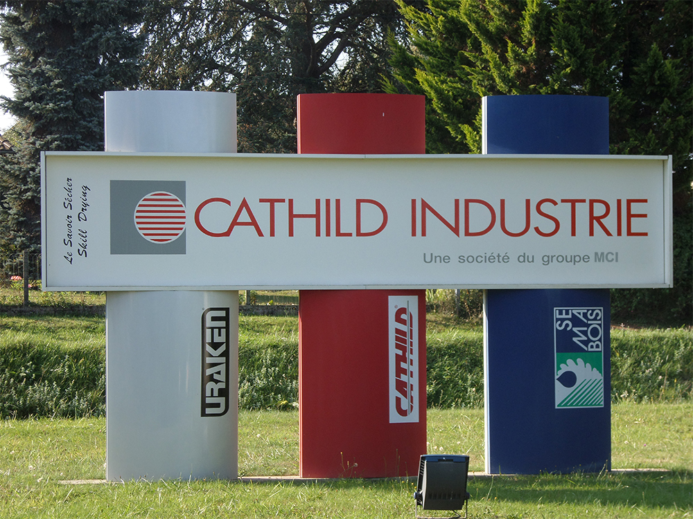 CATHILD INDUSTRIE : leader in wood drying