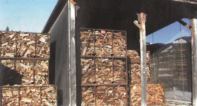 Fiready Inc. uses Cathild wood kiln dryer